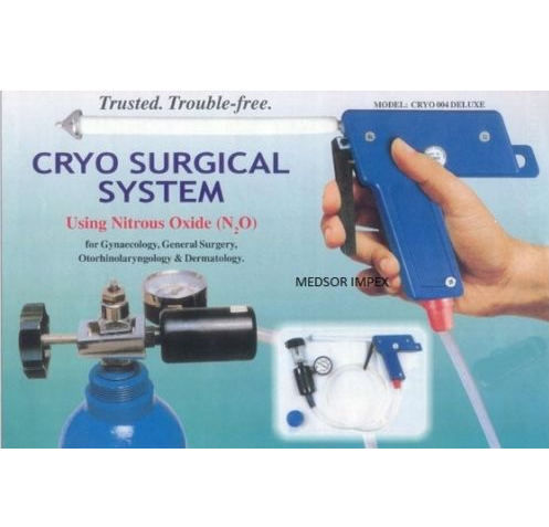 Ent Cryo Gun Probes Set Of 5 Used With Cryo Surgical System